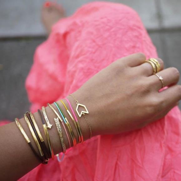 Gorjana single arrow bracelet