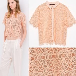 Zara Tops - Zara Lace Top