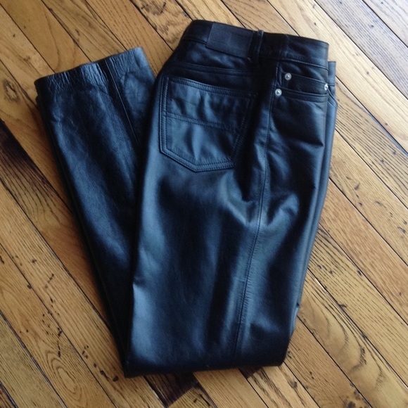 Leather Trousers - Sales Up to -50% Tommy Hilfiger Supply Cheap Online FOriqp13m