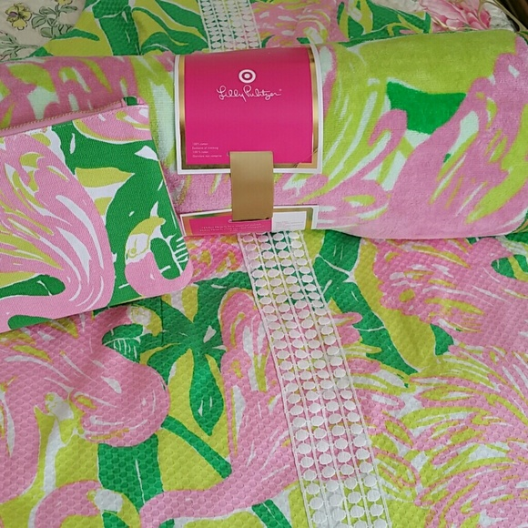 Lilly Pulitzer For Target Accessories Beach Towel Poshmark