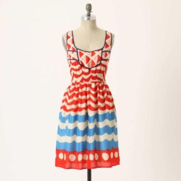 0b12323e2815 Anthropologie Dresses & Skirts - Anthropologie High Seas dress size medium  EUC