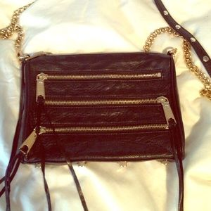 Rebecca Minkoff classic black Mini 5 bag