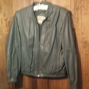 Jackets & Blazers - Berman leather jacket with zip out lining