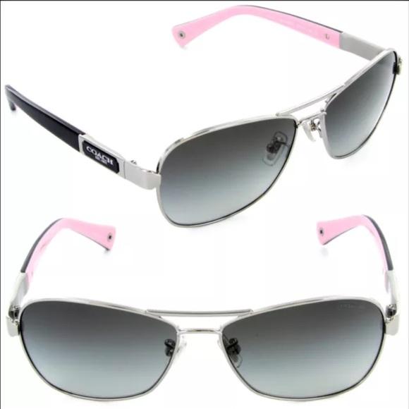 671b931b91db Coach Accessories | Caroline Hc7012 L038 Aviator Sunglasses | Poshmark