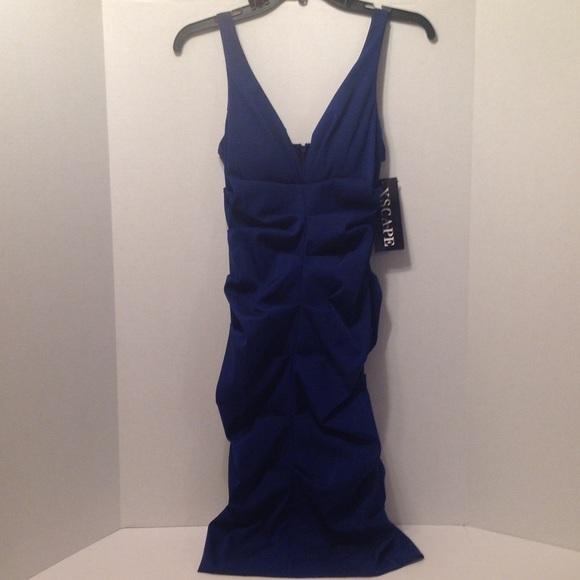 42% off Xscape Dresses &amp Skirts - Xscape by Joanna Chen Royal Blue ...