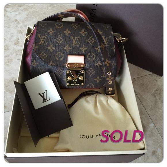 Louis Vuitton Bags   New Mirada Amarante Bag Like New   Poshmark 06726de0d9