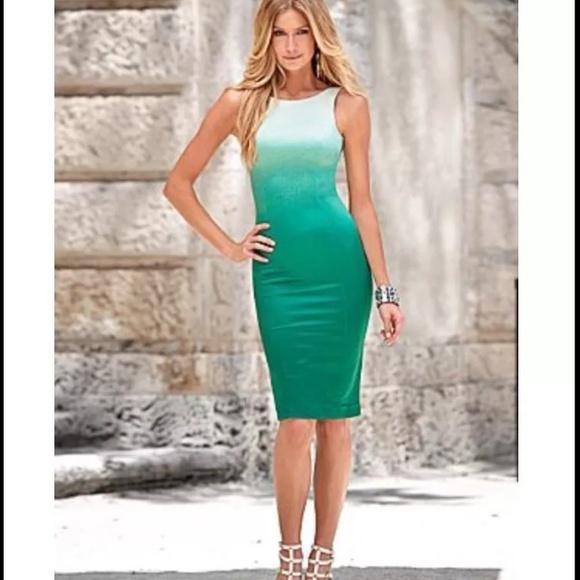 Green Ombre Dress