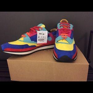 Zara Multi Colorblock Sneaker Size 40