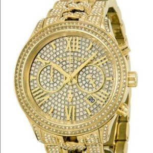 Michael Kors CAMILLE Gold Crystal Watch