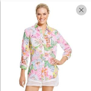 Lilly Pulitzer Tops - Lilly Pulitzer for Target Button Down