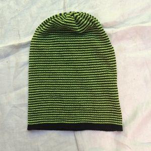 Line Green Beanie NWOT