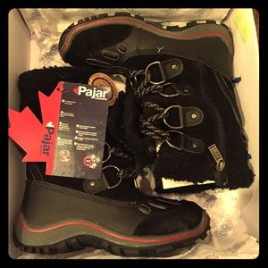 Pajar Iceland Snow Boots - Black - Size 37 - NWT