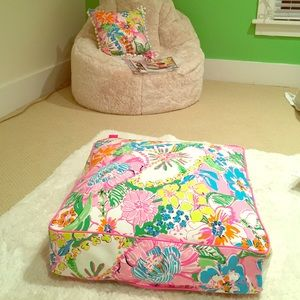 Lilly Pulitzer Other | For Target Floor Cushion | Poshmark