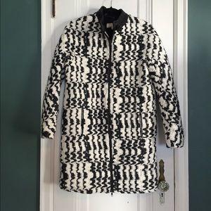 Vanessa Bruno Athe Monochrome Knit Coat