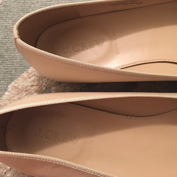 41 off j crew shoes j crew ballet slippers beige cream for J crew bedroom slippers