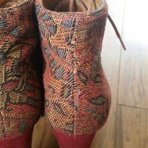 jeffrey campbell shoes sale tapestry lita boots poshmark. Black Bedroom Furniture Sets. Home Design Ideas