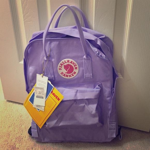 fjallraven kanken rucksack purple
