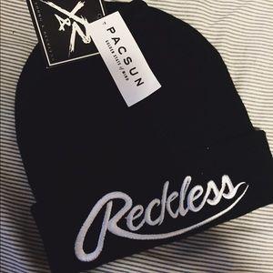 Jackets   Coats - Black reckless beanie. cef19a8e7b0