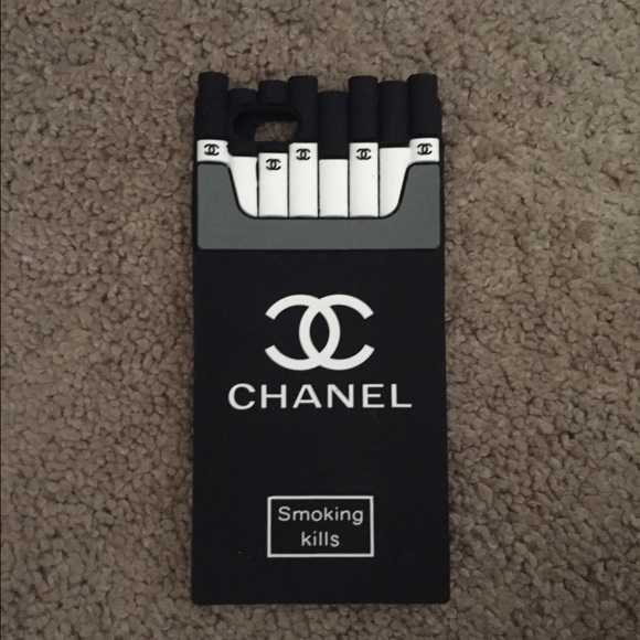 finest selection 3949d 98cc4 iPhone 6 case chanel smoking kills