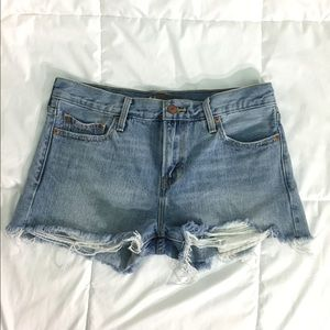 Levi's High Waisted Shorts