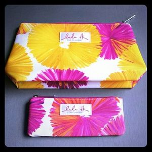 Clinique summer make up bags - set of 2