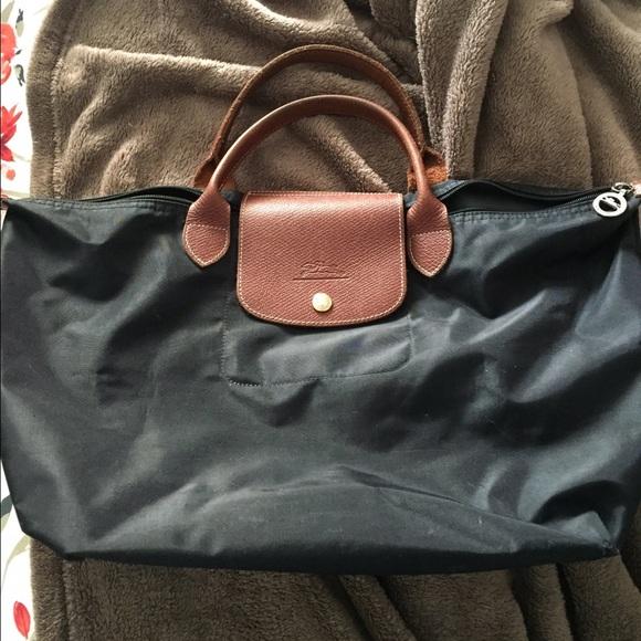 4130e578ee4 Longchamp Handbags - AUTHENTIC LARGE LE PLIAGE SHORT HANDLES LONGCHAMP
