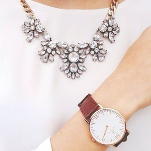 Gorgeous Crystal Statement Necklace
