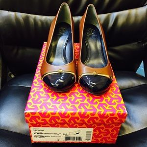 NIB PACEY WEDGE TORY BURCH SHOES