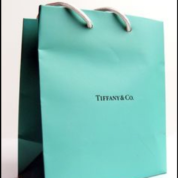 68% off Tiffany & Co. Handbags - New Tiffany & Co. Shopping Bag ...