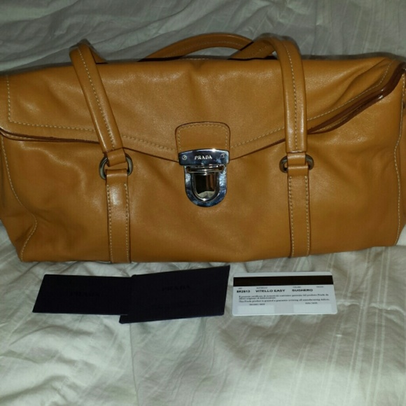 26aaaec50bcb Prada Bags | Sale Todayauthentic Soft Leather Handbag | Poshmark