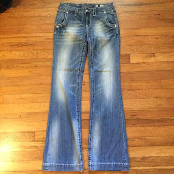 53% off Miss Me Denim - Miss Me Denim Wide Leg Jeans size 28 from ...