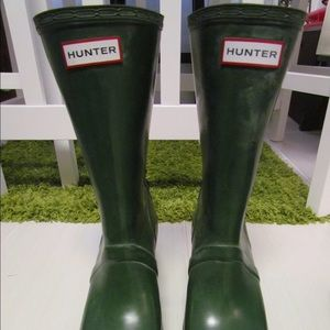 Hunter Lace Up Rain Boots