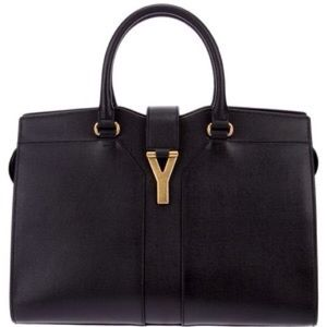 Yves Saint Laurent Bags Ysl Grey Chyc Cabas Large Tote
