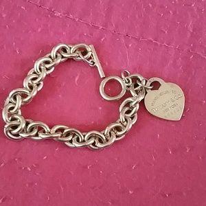 Authentic Tiffany plz return to bracelet