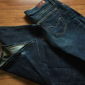 AG Adriano Goldschmied Jeans - AG Adriano Goldschmied dark denim, perfect fit!!