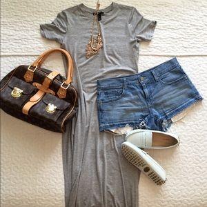 F21 Side Slit Maxi Dress