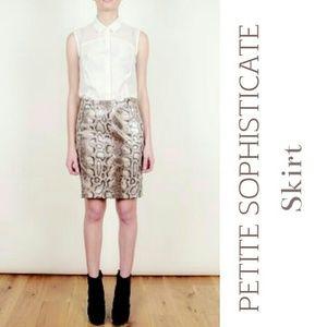 Petite Sophisticate Dresses & Skirts - Neutral Skirt