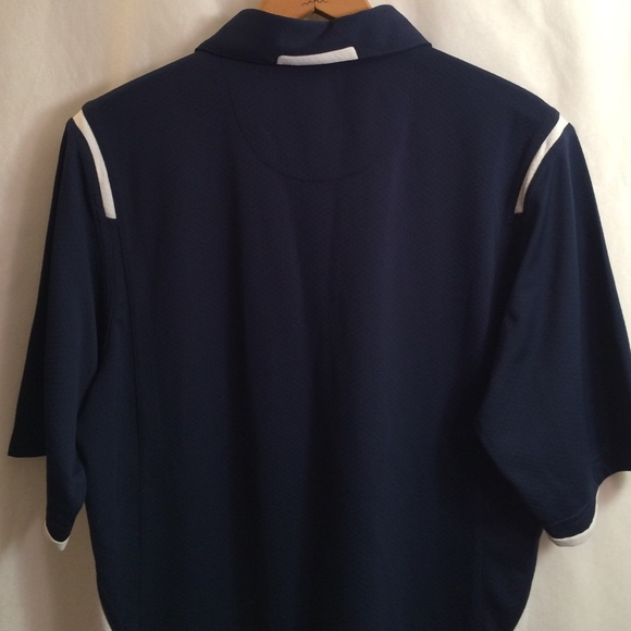 88 off nike tops nike navy blue white golf polo shirt