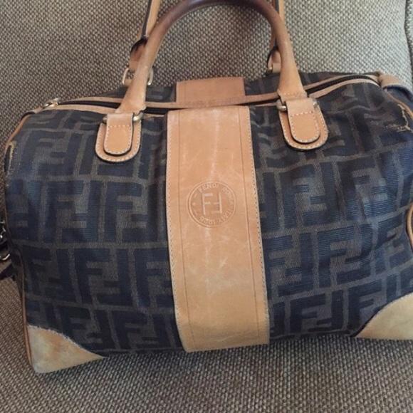 0b1a259b376c FENDI Handbags - FENDI vintage monogram bag
