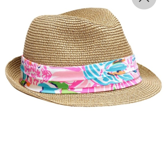 Lilly Pulitzer for Target Girls Hat Nosie Posey c7f452cabab