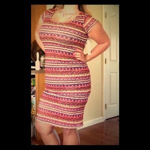 Almost Famous Dresses & Skirts - Perfect Aztec Summer Dress