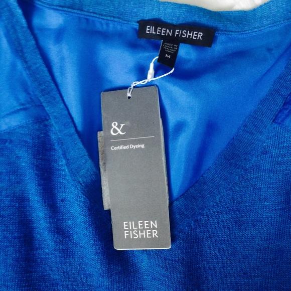 Eileen Fisher Loose Silk Blouse 108