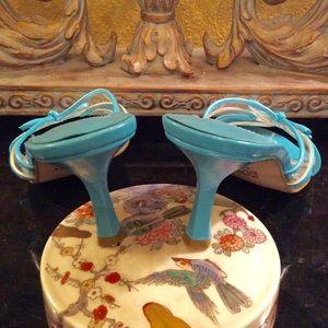 Bijou Shoes - Turquoise healed Dress Sandals