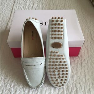 JustFab Mint Loafers