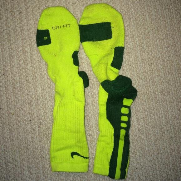 Green Nike Elite Socks | Poshmark