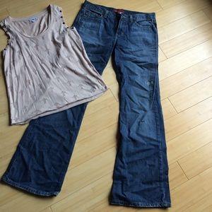 Distressed Aeropostale Jeans