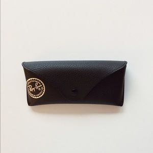 authentic Ray-Ban black sunglasses case