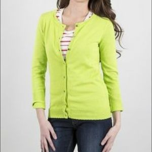 74% off J. Crew Sweaters - Final markdown!!! Jcrew lime green ...