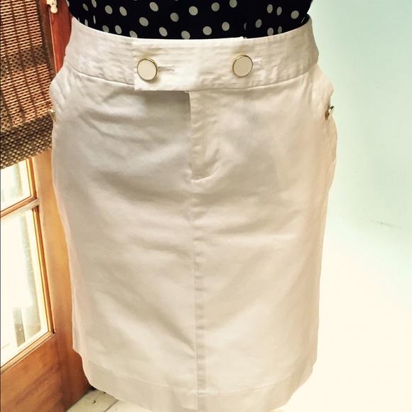banana republic banana republic white pencil skirt from