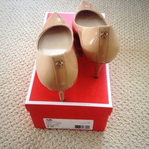 a31415001c5 Coach Shoes - SS2015 Coach Grand Nude Patent Leather Pumps 8M